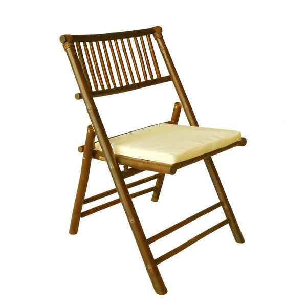 Zew Handcrafted Natural Bamboo Chair. Opens flyout.