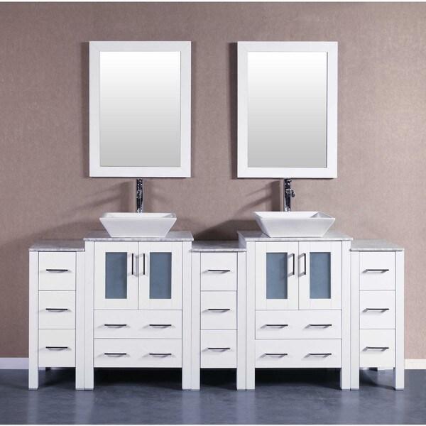 60 Bosconi Aw230ewgu Double Vanity
