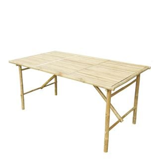 Zew Handcrafted Natural Rectangular Table