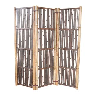 Zew Brown Bamboo Handcrafted Divider