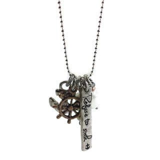 Mama Designs Handmade 'Refuse to Sink' Charm Style Necklace