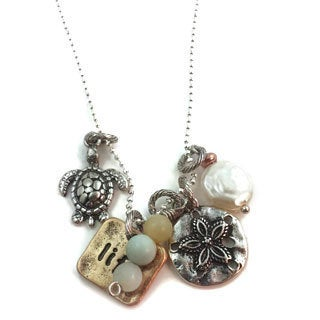 Mama Designs Handmade Sterling Silver Inspiring Charm Style Necklace