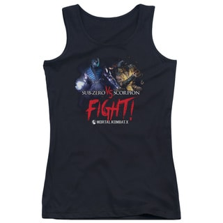 Mortal Kombat X/Fight Juniors Tank Top in Black