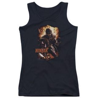 Ninjak/Fiery Ninjak Juniors Tank Top in Black