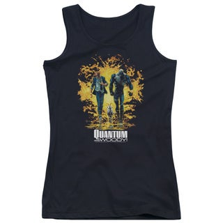 Quantum and Woody/Explosion Juniors Tank Top in Black