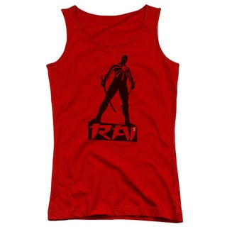 Rai/Silhouette Juniors Tank Top in Red
