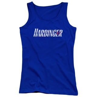 Harbinger/Logo Juniors Tank Top in Royal Blue