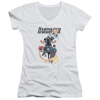 Harbinger/Vertical Team Junior V-Neck in White