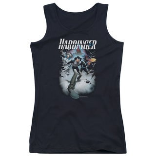 Harbinger/12 Juniors Tank Top in Black