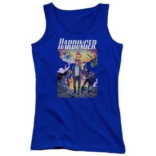 Harbinger/Foot Forward Juniors Tank Top in Royal Blue