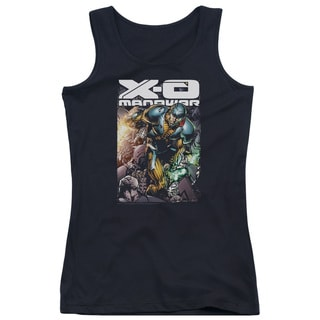 Xo Manowar/Pit Juniors Tank Top in Black
