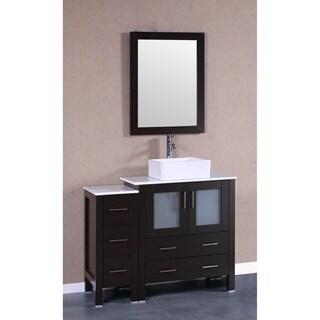 42-inch Bosconi AB130CBEPS1S Single Vanity