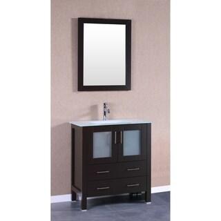 30-inch Bosconi AB130EWGU Single Vanity