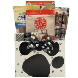 Barkolicious! Pet Dog 14-inch x 12-inch x 8-inch Gift Basket
