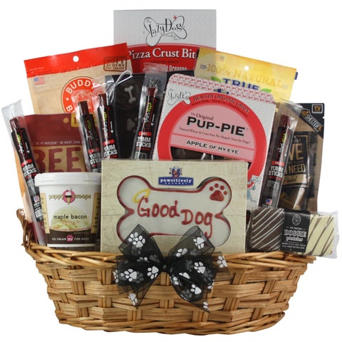 Pawsitively Delicious! Dog Gift Basket