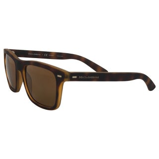 Dolce & Gabbana DG 6095 2899/83 - Top Yellow/Havana Rubber Polarized