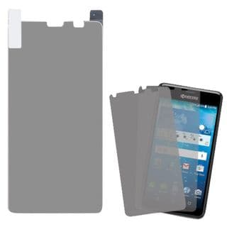 Insten Clear Screen Protector for Kyocera Hydro View (Set of 2)