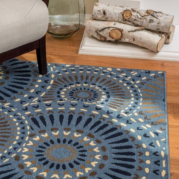 Outdoor Rug 7 X 10: Shop Christopher Knight Home Roxanne Lacy Indoor/Outdoor