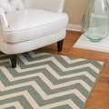 Christopher Knight Home Roxanne Ariel Indoor/Outdoor Chevron Rug (8' x 10')