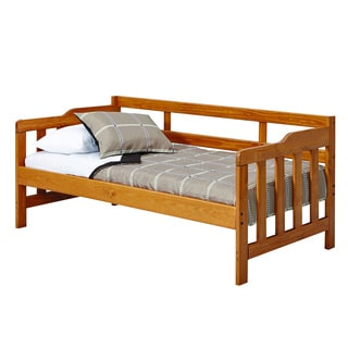 Woodcrest Heartland Honey Lacquer Pine Day Bed