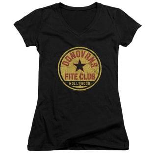 Ray Donovan/Fite Club Junior V-Neck in Black