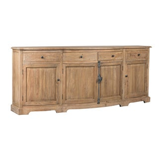 Kosas Home Benjamin Natural Finish Wood/Iron Sideboard