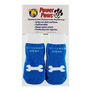 Woodrow Wear Power Paws Advanced Dog Socks