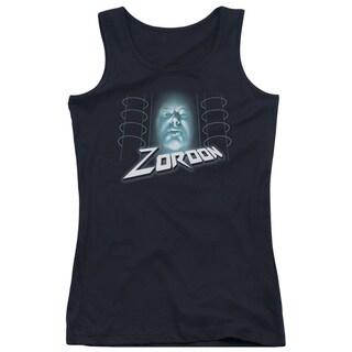Power Rangers/Zordon Juniors Tank Top in Black