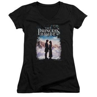 Princess Bride/Storybook Love Junior V-Neck in Black