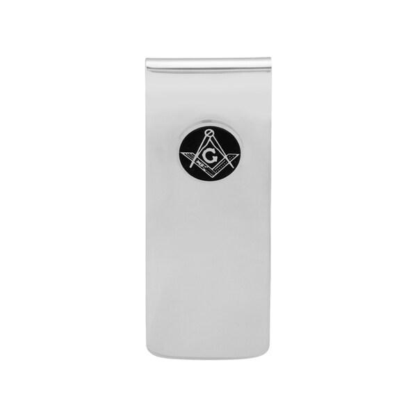 Stainless Steel Masonic Money Clip