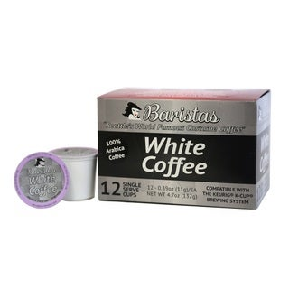 Baristas White Coffee Single-serve K-Cups (Pack of 12)