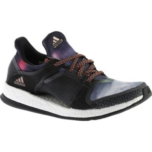 Shop Women s adidas Pure Boost X Trainer Black Dark Grey Sun Glow - Free  Shipping Today - Overstock - 11895453 8c3910da5