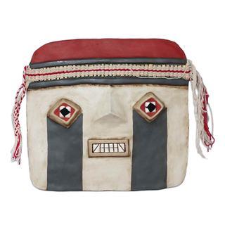 Handmade Recycled Paper 'Tiahuanaco' Mask (Peru)