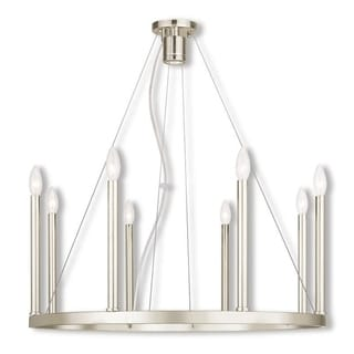 Livex Lighting Alpine Steel Chandelier