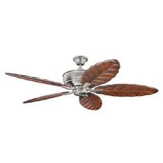 Kichler Lighting Monarch Collection 70-inch Burnished Antique Pewter Ceiling Fan