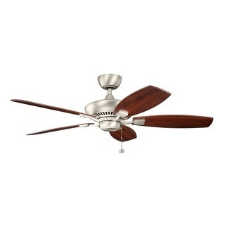 Kichler Lighting Canfield Collection 52-inch Brushed Nickel Ceiling Fan