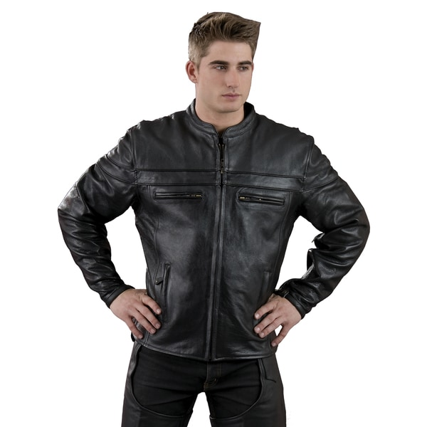 Mens Sporty Scooter Crossover Jacket