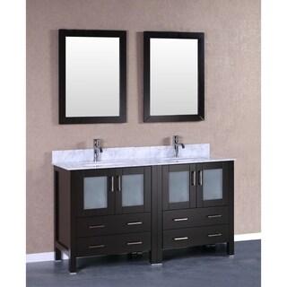 60-inch Bosconi AB230CMU Double Vanity