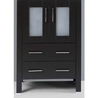 24-inch A-B-24MC Black Single Vanity Cabinet|https://ak1.ostkcdn.com/images/products/11896087/P18790737.jpg?impolicy=medium