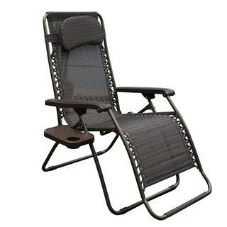 Abba Patio Oversized Zero Gravity Recliner Patio Lounge Chair