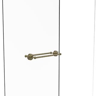 Allied Brass Collection Black, Brass, Bronze, Chrome, Copper, Nickel Brass 18-inch Back to Back Shower Door Towel Bar