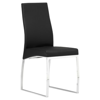 Faux Leather Upholstered Metal Dining Room Chair (2 options available)
