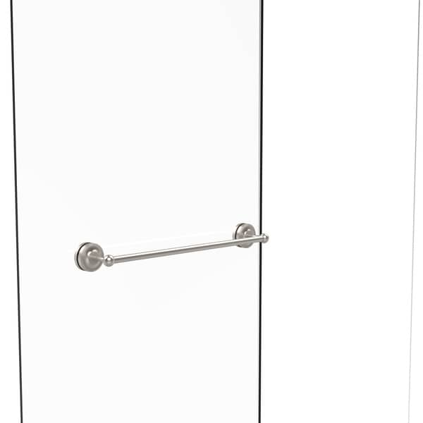 shop allied brass prestige regal collection 24 inch shower door towel bar on sale free. Black Bedroom Furniture Sets. Home Design Ideas