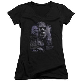 Grimm/Lady Hexenbeast Junior V-Neck in Black