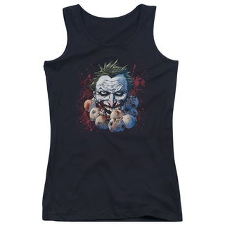 JLA/Doll Heads Juniors Tank Top in Black