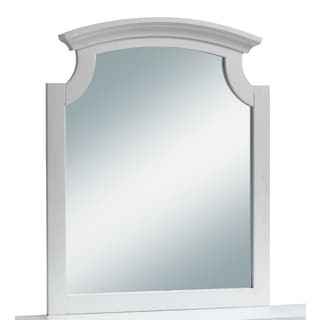 Global Leila White MDF/Glass Mirror