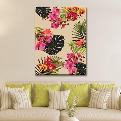 Ready2HangArt 'Coastal Jungle II' Wrapped Canvas Art