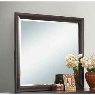 Global Sofia Coco Brown Framed Mirror