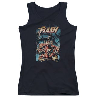 JLA/Electric Chair Juniors Tank Top in Black