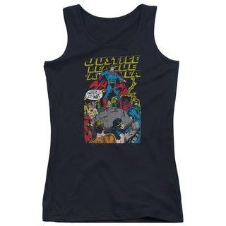 JLA/Ultimate Scarifice Juniors Tank Top in Black